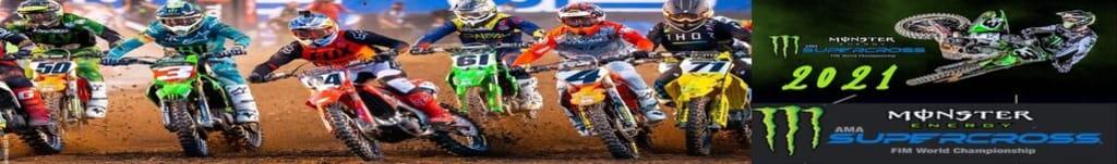 Watch Supercross Live   Houston, Tx. on 16.01.2021   NBC Sports, Peacock Tv.