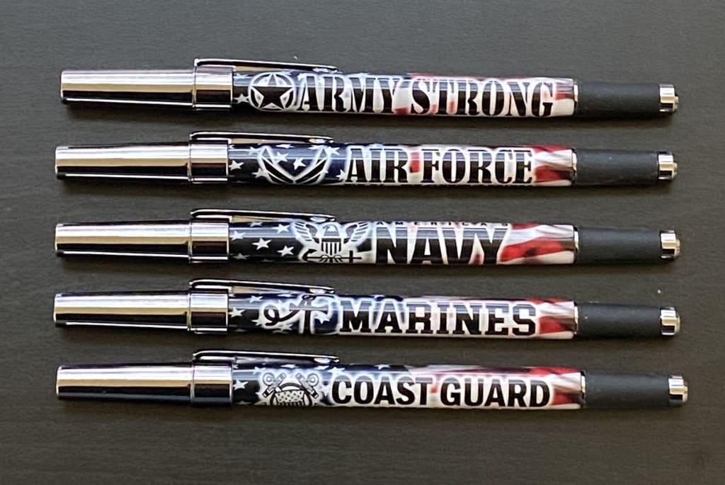 Handmade Military Icon Pens