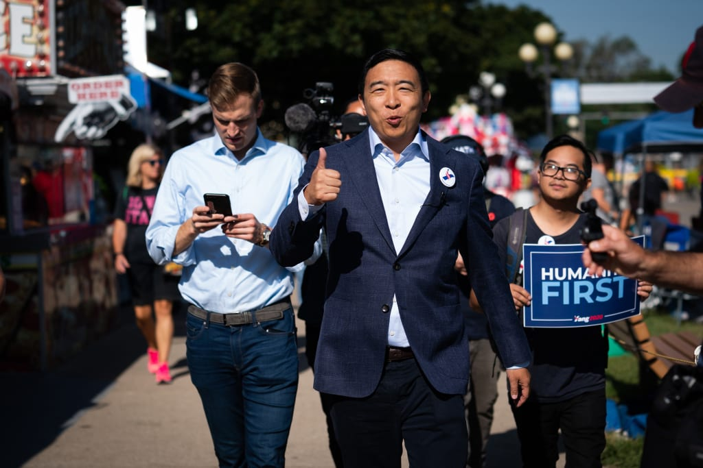 Andrew Yang: a silent hero in the making