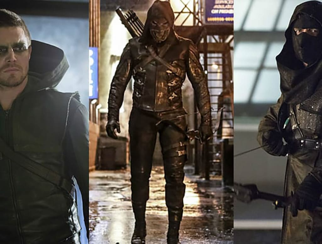 Arrow Was Prometheus Trained By The League Of Assassins