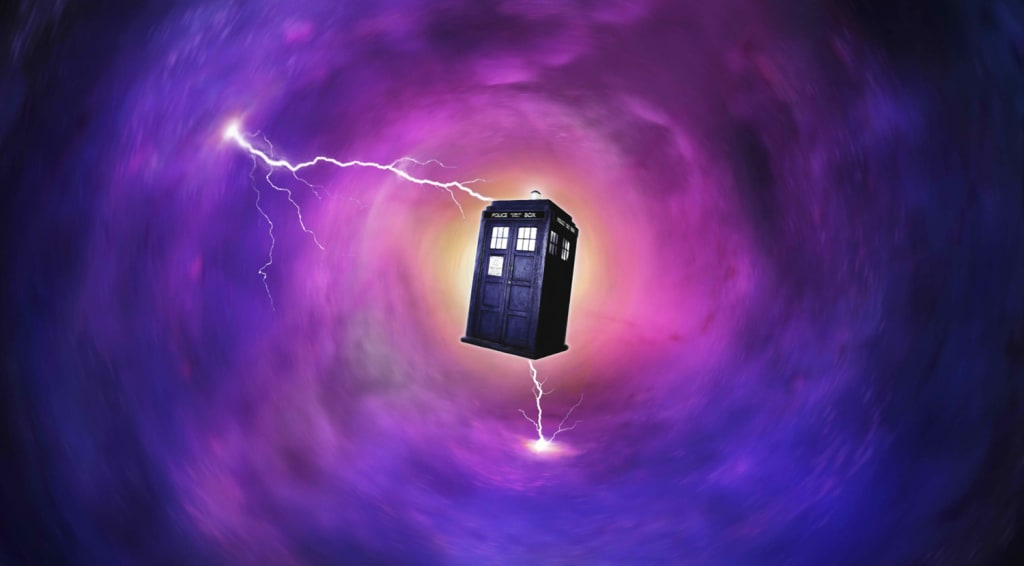 When Doctor Who's TARDIS Went For A Run!