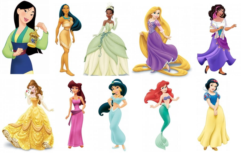 Growth of Disney Women from 'Pocahontas' to 'Frozen'