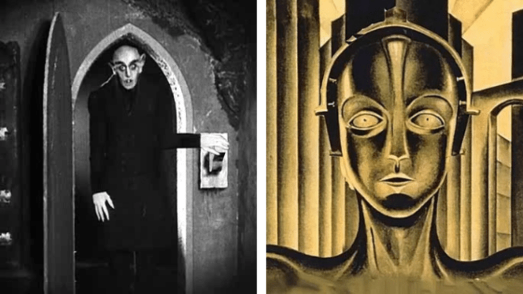 Metropolis, Nosferatu, and German Expressionism