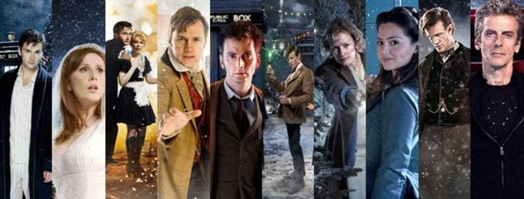 Doctor Who Christmas Specials.Doctor Who Christmas Specials 10 Years On Each Episode