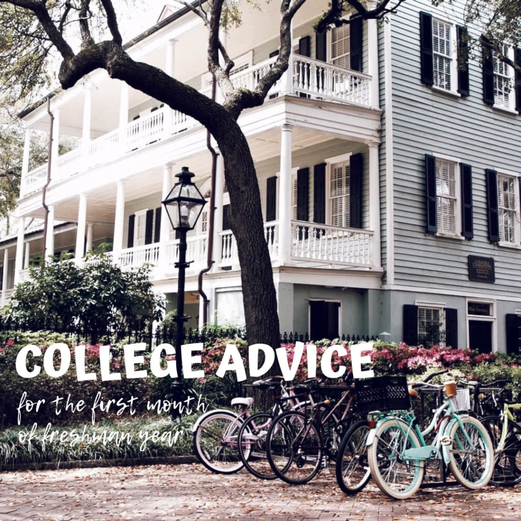 9 Things I Have Learned After Being in College for a Month