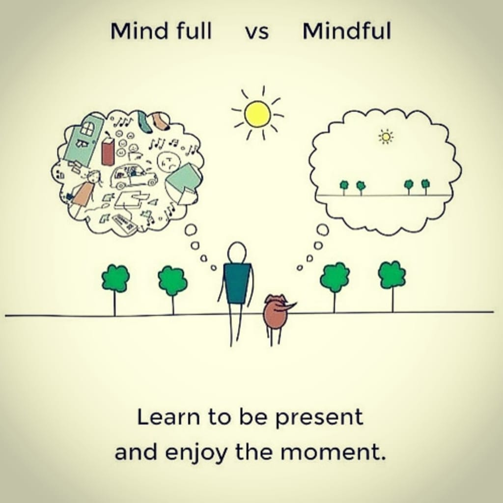 mengurangi stress ibu dengan mindfulness, penuh kesadaran