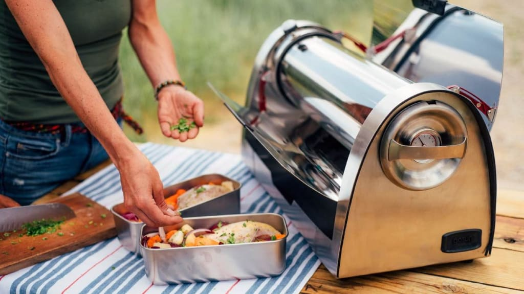 We Tried Cooking with GoSun's Solar Grill & Here's What Happened