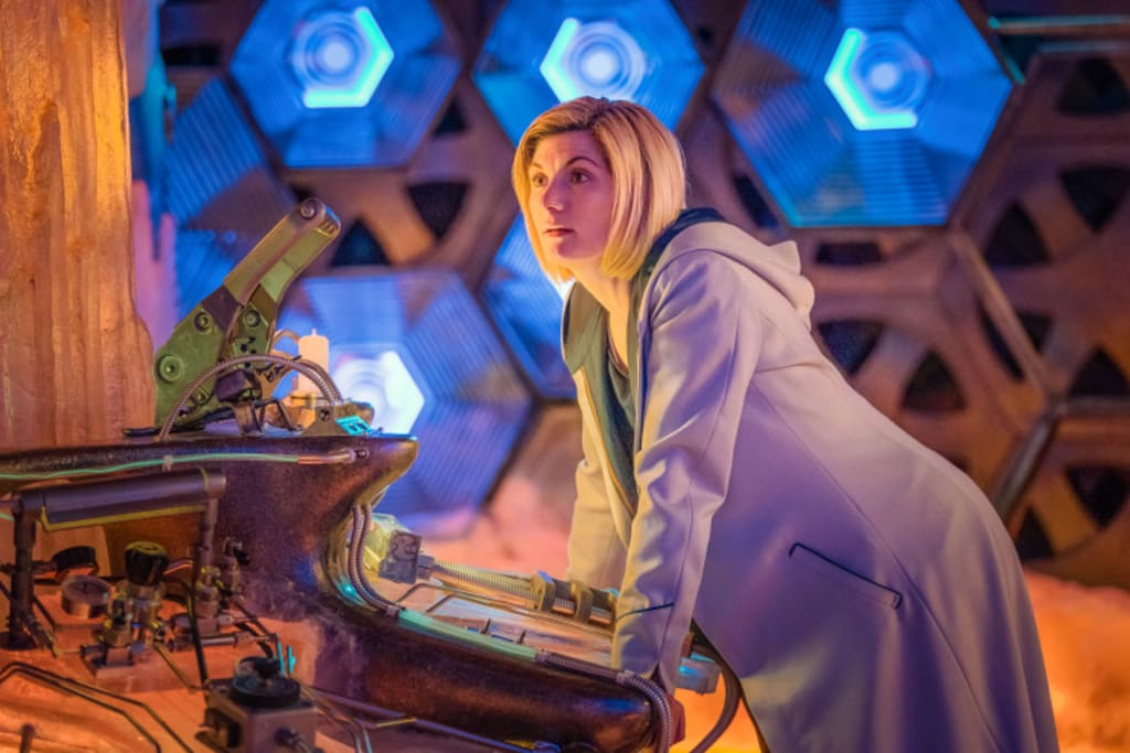 Glimpse at Jodie Whittaker's New 'Doctor Who' Costume as They Appear to Film a World War II Story