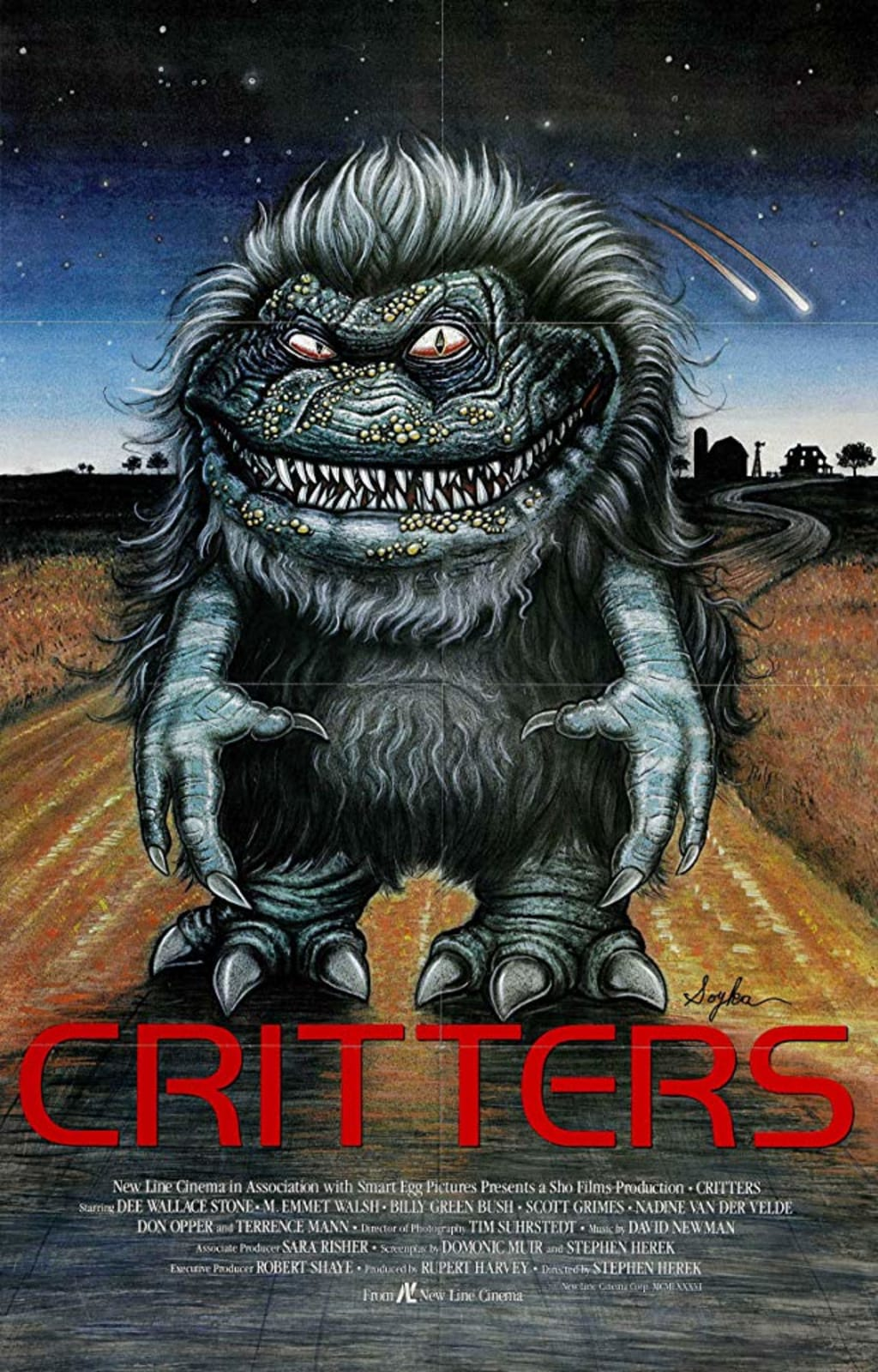 Reed Alexander's Horror Review of 'Critters' (1989)