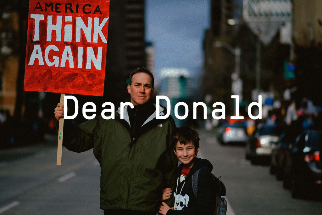 "Introducing ""Dear Donald"""