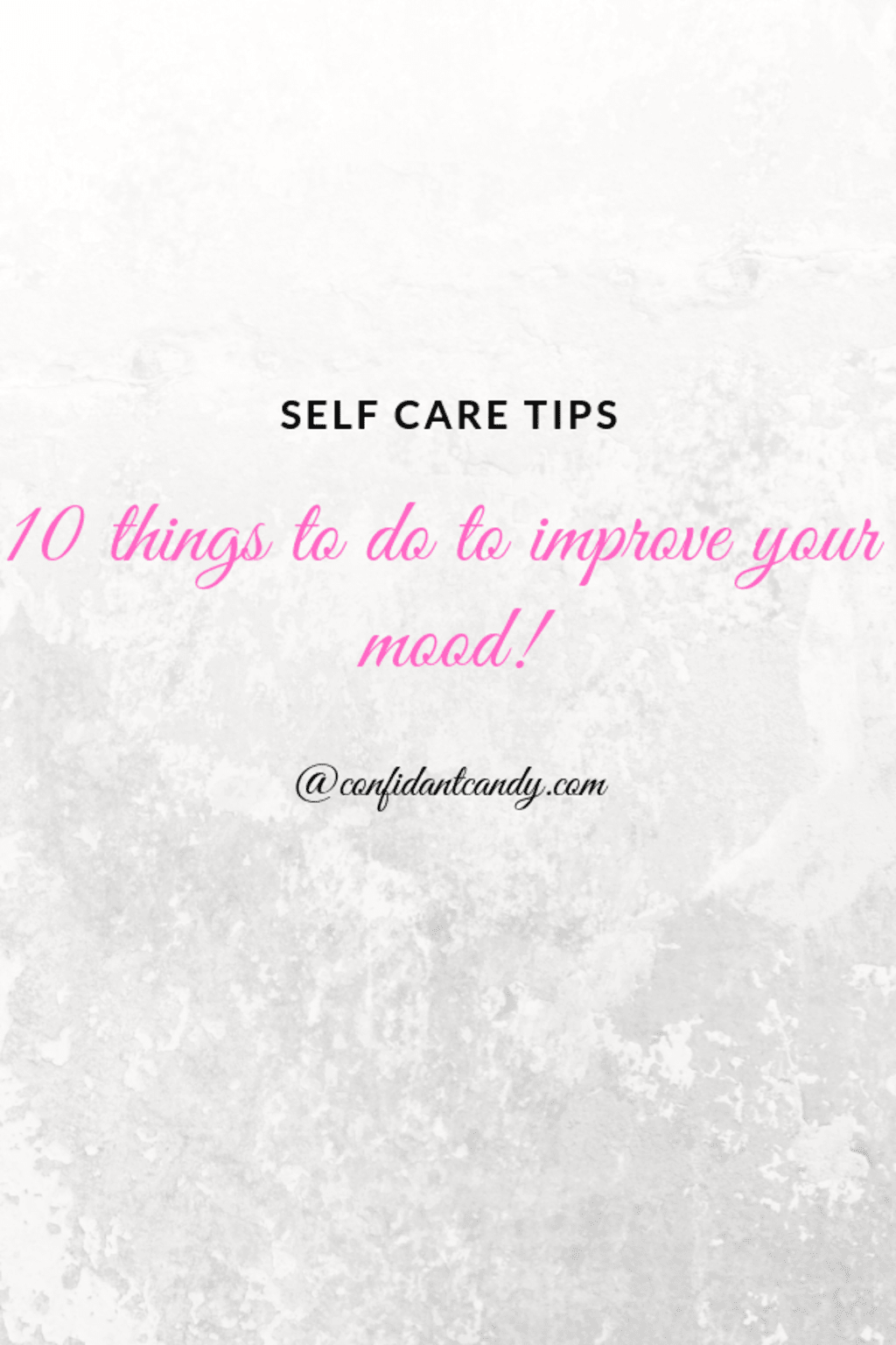 10 Things to Do to Improve Your Mood
