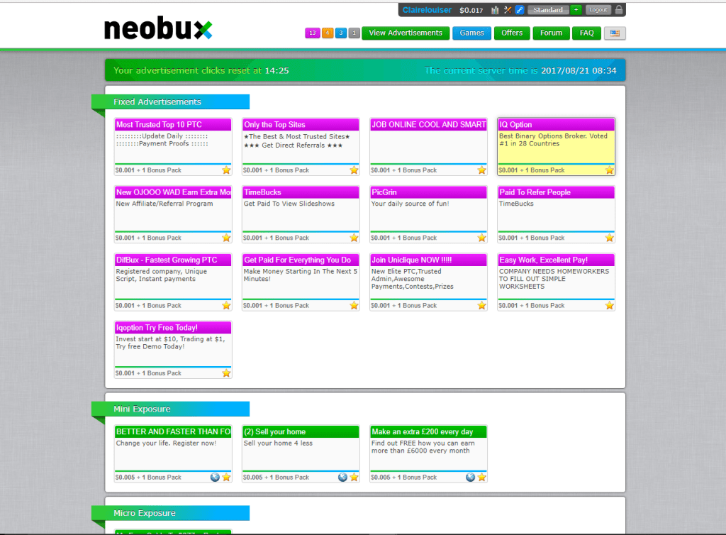 Making Money Online: Is Neobux Worth It?