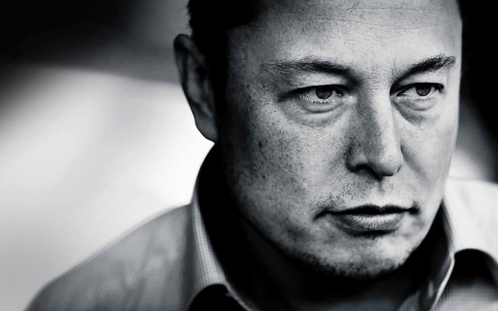 Elon Musk's Self-Driving Tesla Car