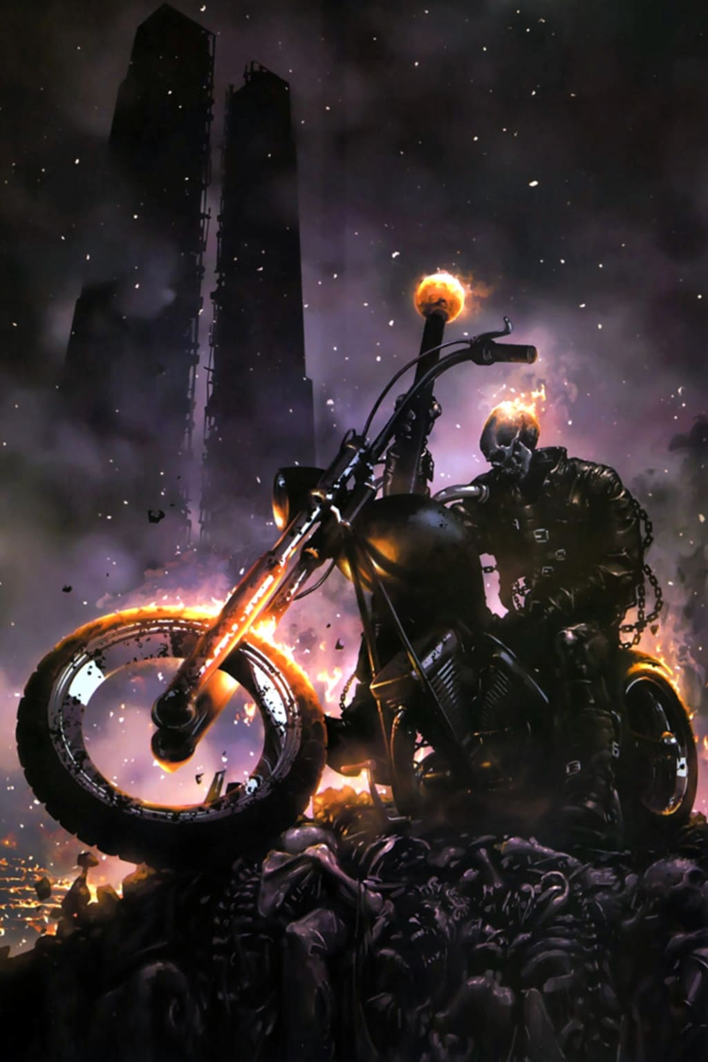 How To Build Ghost Rider In The Pathfinder Rpg