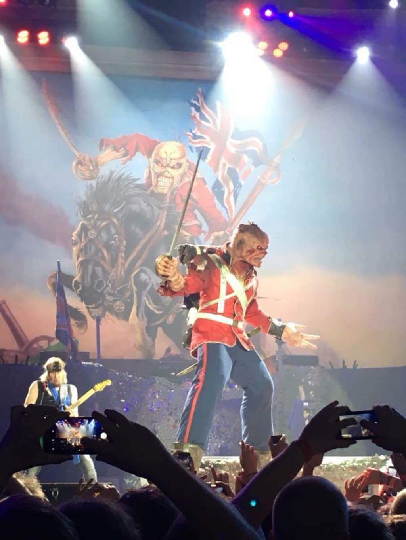 Iron Maiden 'Legacy of The Beast' European Tour, Newcastle, UK, July 31, 2018