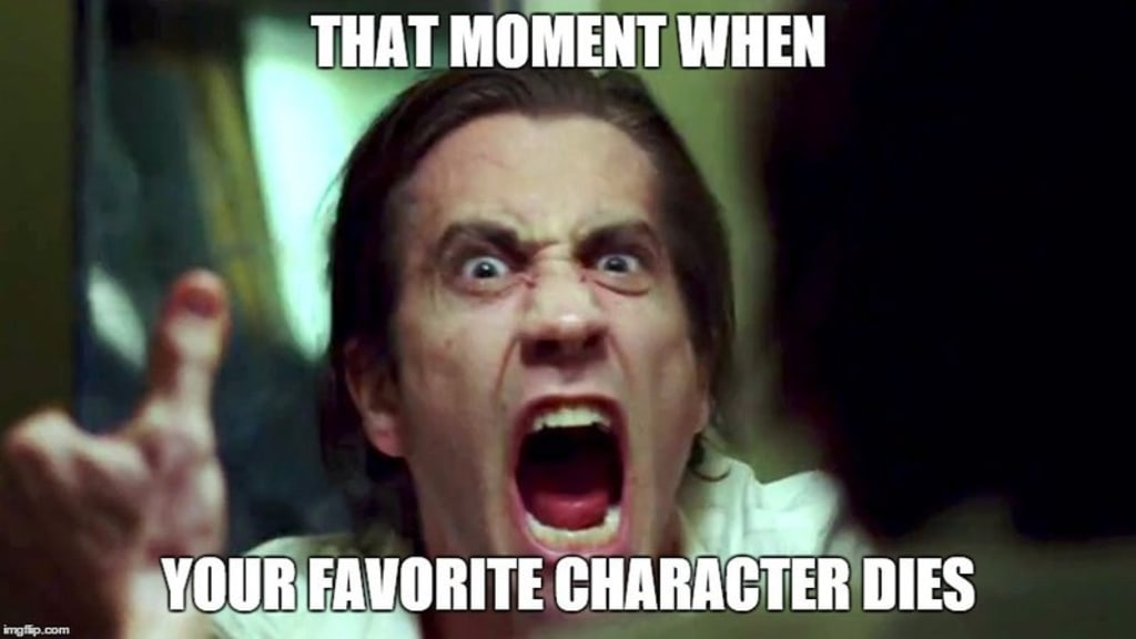 How to Successfully Mourn a Fictional Character...