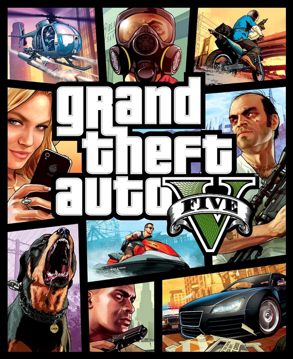 Anthony's Film Review - 'Grand Theft Auto V' (2013)