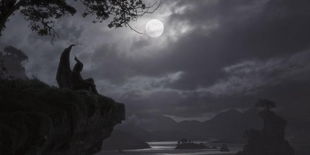 A Moon's Despair