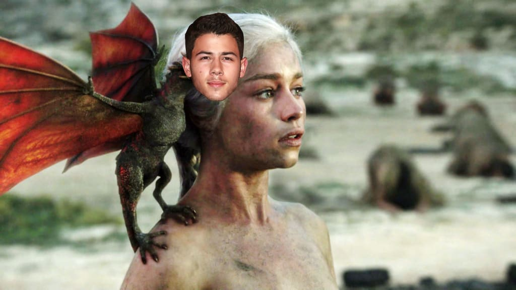 """""""You Can Ride A Dragon Honey!"""" Emilia Clarke Promises Nick Jonas 'Game Of Thrones' Role!"""