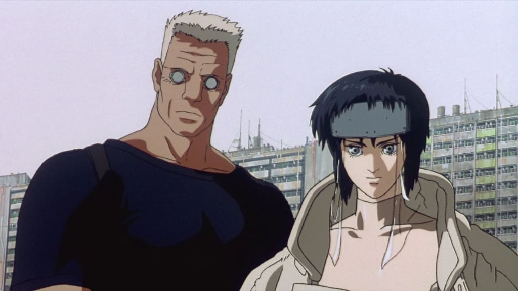 Ghost In The Swell Ghost In The Shell Just Made A Major Anime Announcement