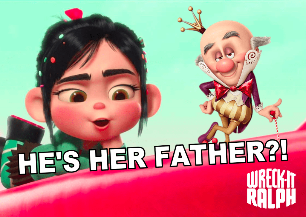 Wreck It Ralph Theory Was King Candy Vanellope S Father