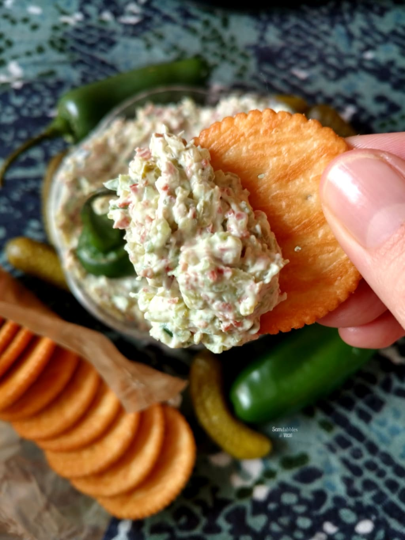 Creamy Jalapeño Pickle Dip