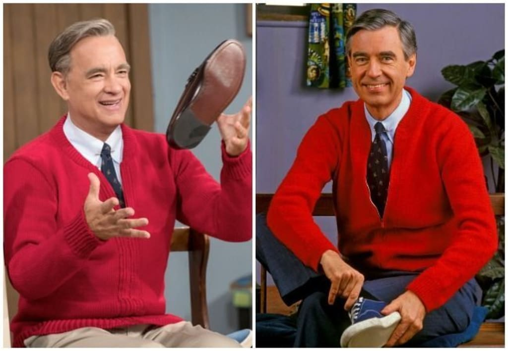 Tom Hanks Is Mr Rogers In A Beautiful Day In The Neighborhood