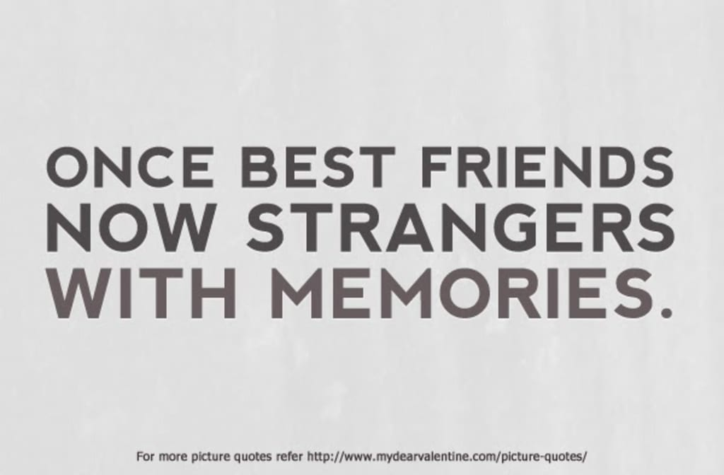 To My Ex-Best Friend