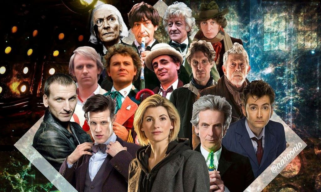 Your Complete Guide To All Of The Doctor's Regenerations In 'Doctor Who'