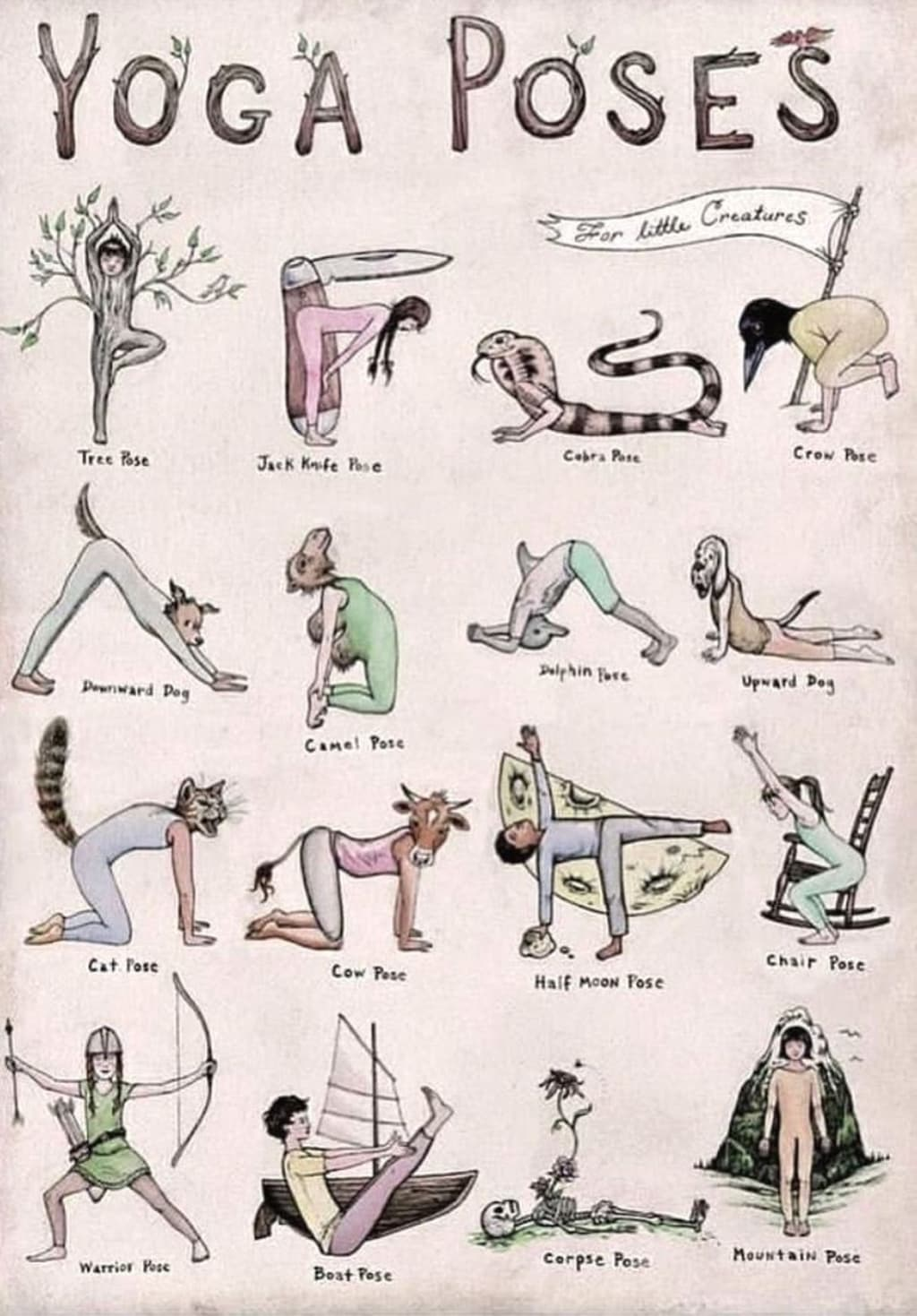 Lessons from Yoga
