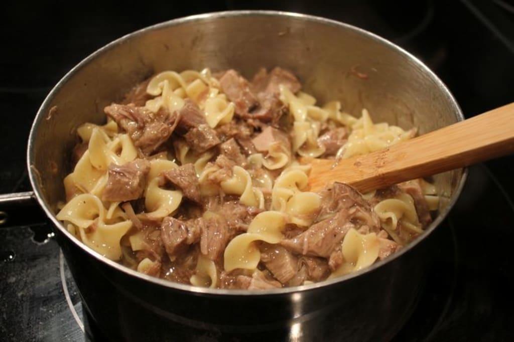 Beef Tip Noodles