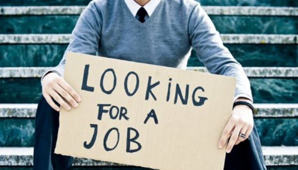 Why Is It Hard to Look for a Job?
