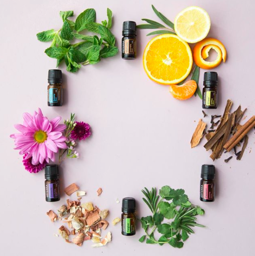 Essential Oil Mixture for Skin Care