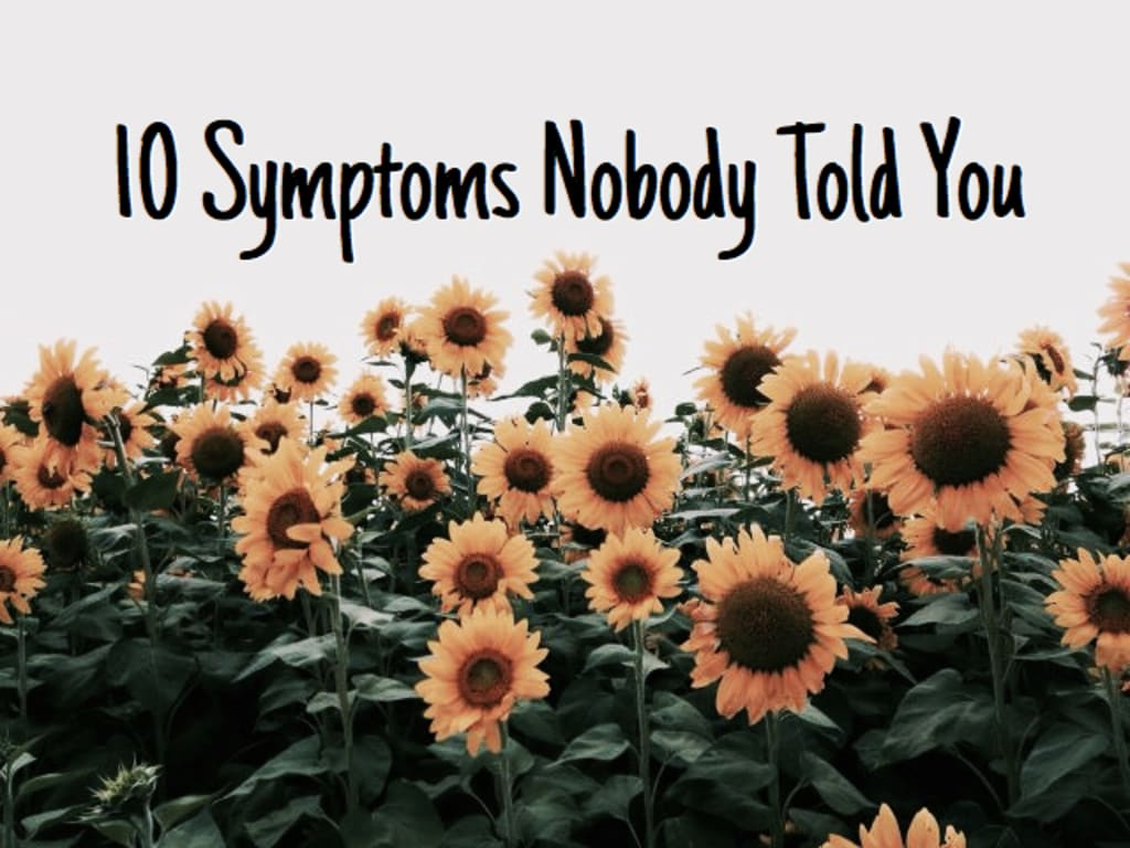 10 Symptoms Nobody Told You About Eating Disorders
