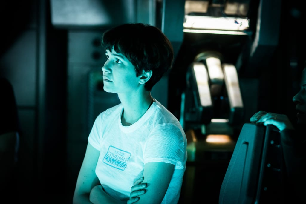 Bursting With Excitement: 'Alien: Covenant' Image Contains Huge Spoiler About Katherine Waterston's Daniels