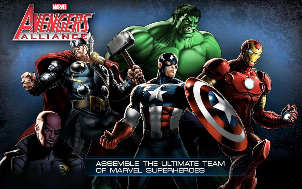 In Celebration of 'Marvel Avengers Alliance'