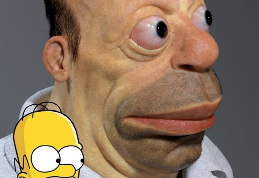 Live Action Simpsons Movie Re Cast