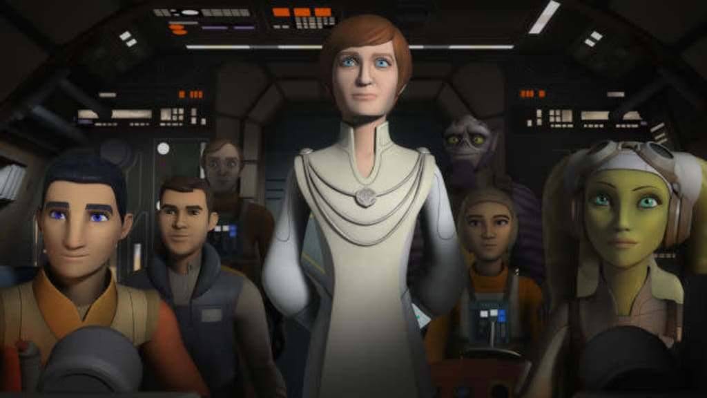 Rebel Heart: Mon Mothma Finally Rallies the Troops on 'Star Wars Rebels'