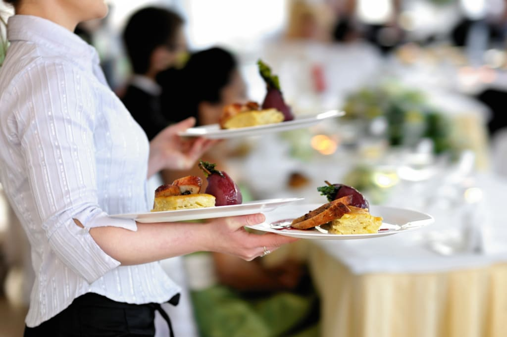 Working as a Waitress