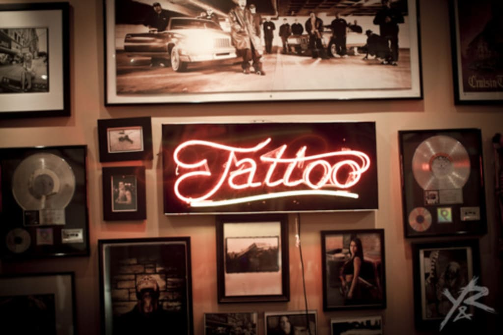 Tattoo Parlors and Vomit on the Second Date