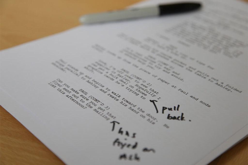 How to Write a Script Pt.1