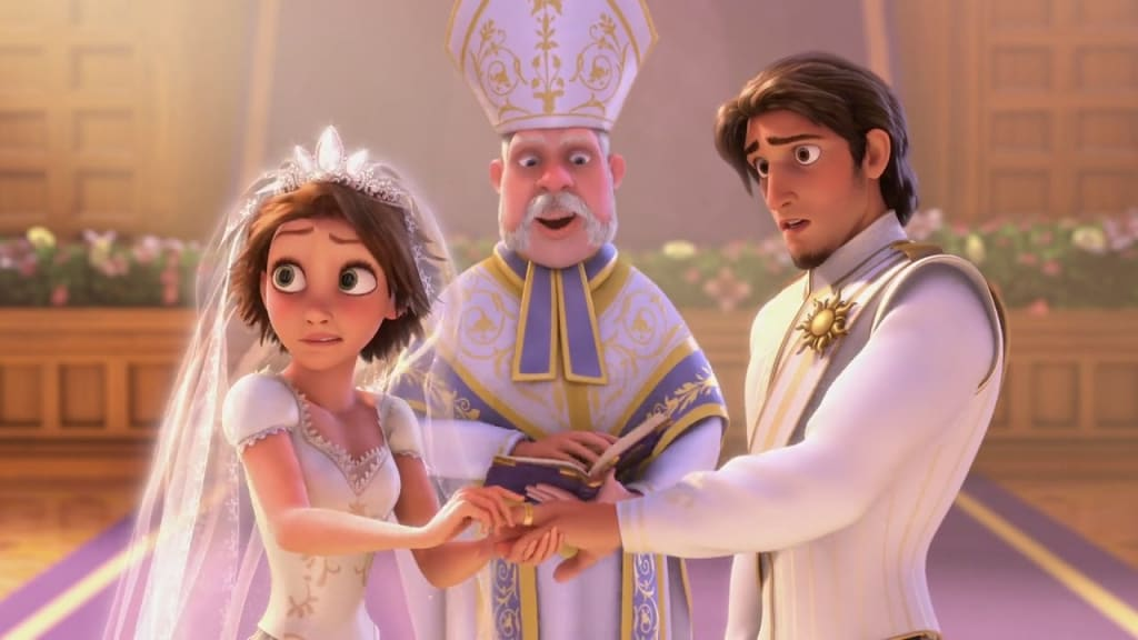 Short Film Reviews: 'Tangled Ever After' (2012) and 'Piper' (2016)