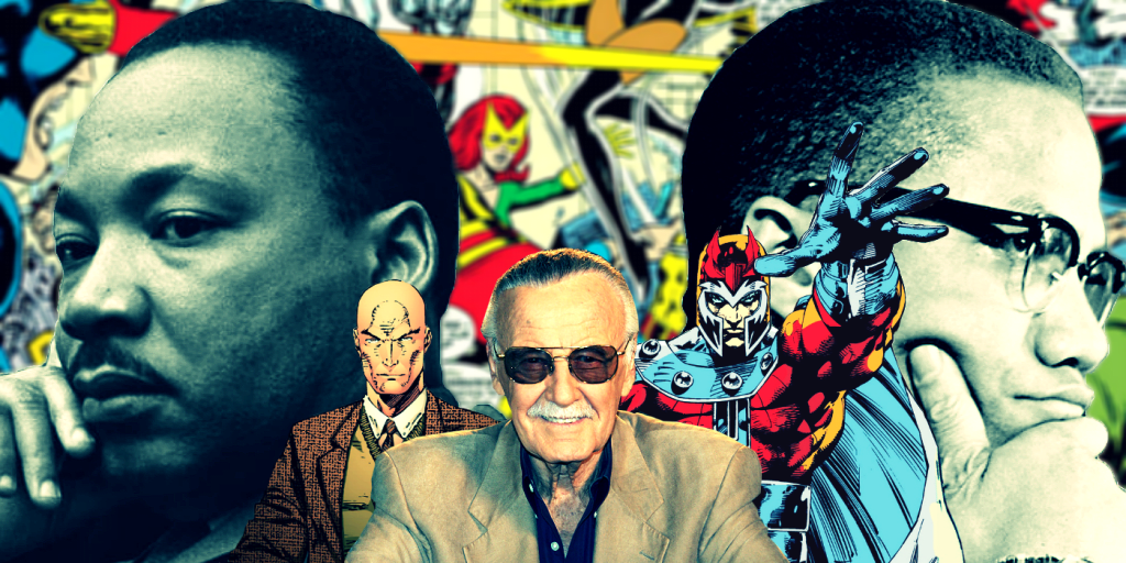 Actually, Stan Lee Didn't Base Marvel's Prof. X & Magneto on Malcolm X & Martin Luther King Jr.