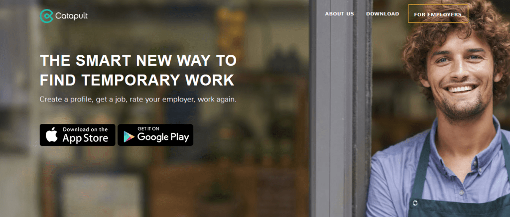 Finding Temporary Work Through Catapult