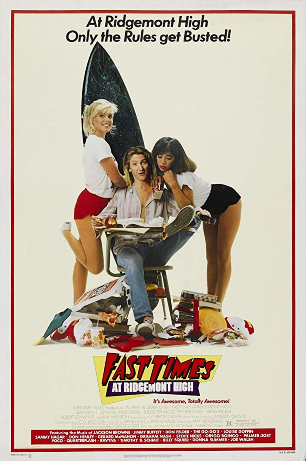 So Alive at Plattsburgh State with Those 'Fast Times at Ridgemont High'