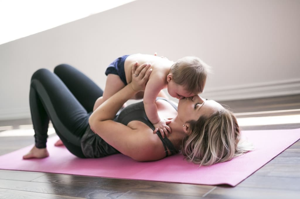 New Mom? Top Tips to Keep You in Top Shape Physically and Mentally