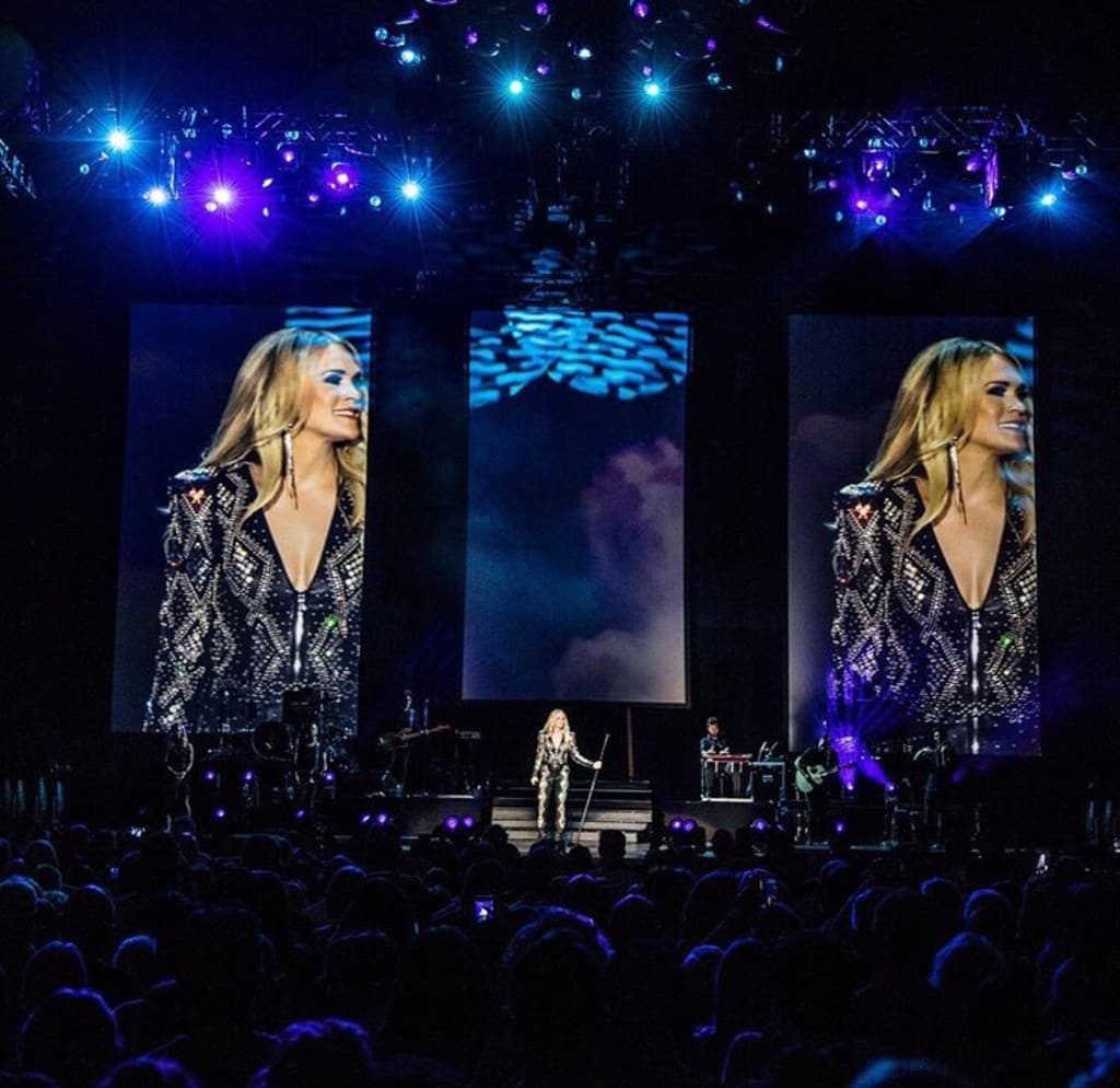 Blog: Carrie Underwood - 'Cry Pretty' UK Tour