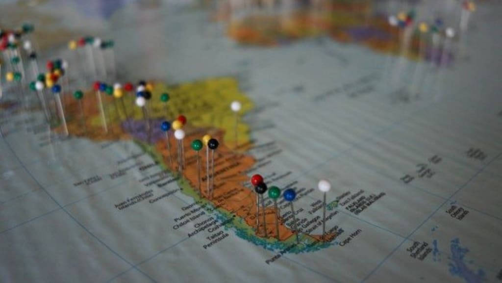 How to Make a Push Pin Travel Map