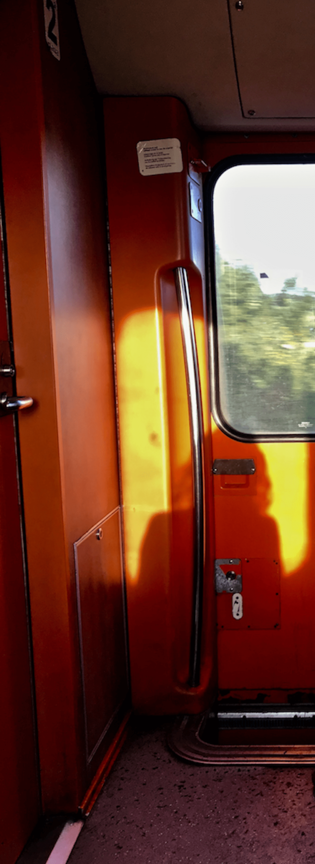 Burnt Orange Train