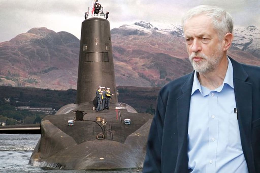 Jeremy Corbyn and Nuclear Weapons: The Red Button Excuse